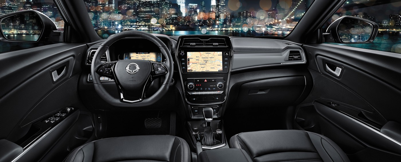 SsangYong New Tivoli interieur