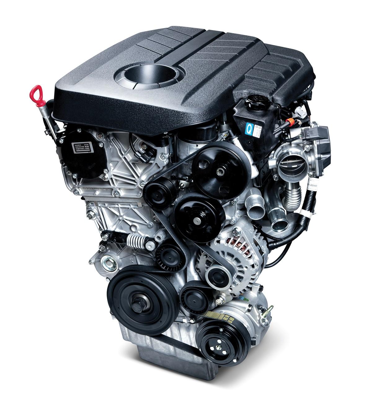 SsangYong Tivoli - Zuinige benzinemotor en dieselmotor