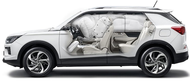 SsangYong nieuwe Tivoli 7 airbags